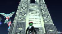 pso2 【地球・東京】フィールド 夜の東京都庁